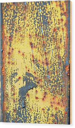 Hold On Sunshine Wood Print