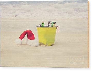 Holiday Cheer Wood Print by Kim Fearheiley