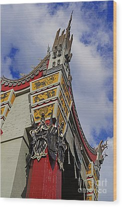 Hollywood Studios - The Great Movie Ride Wood Print by AK Photography