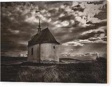 Holy Cross Chapel Wood Print by Tom Bell