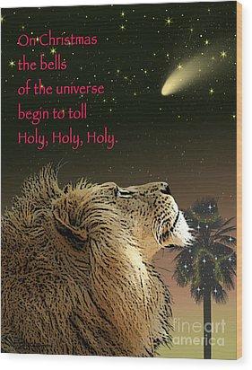 Holy Holy Holy Wood Print
