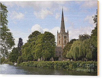 Holy Trinity Church Wood Print by Jane Rix