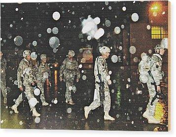 Homecoming 2009 Wood Print by Sarah Loft