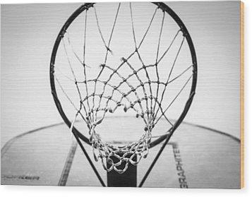 Hoop Dreams Wood Print by Susan Stone