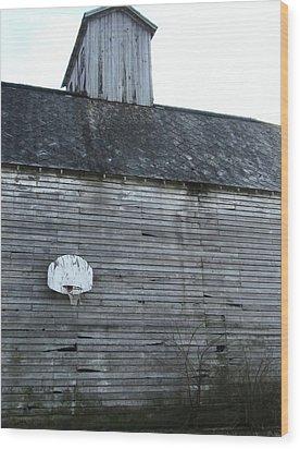 Hoops Number Two Wood Print by Todd Sherlock