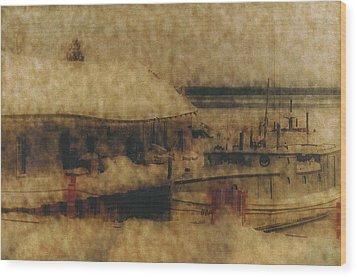 Hope For Fish Wood Print
