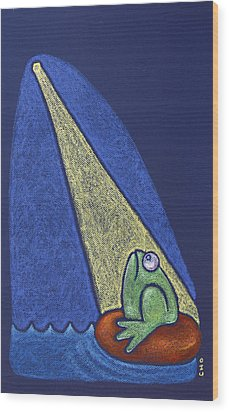 Hope Wood Print by wendy CHO