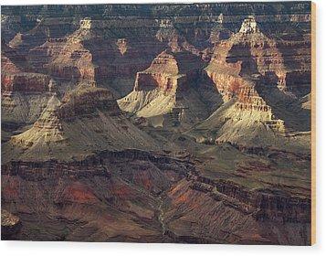 Hopi Point Wood Print by Cindy Rubin