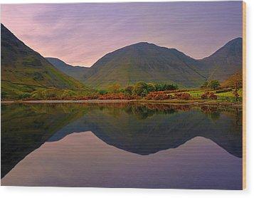 Horizon Line Wood Print by Svetlana Sewell
