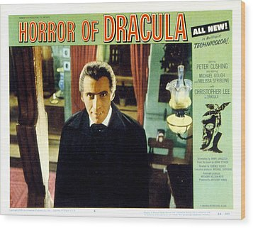 Horror Of Dracula, Christopher Lee, 1958 Wood Print by Everett