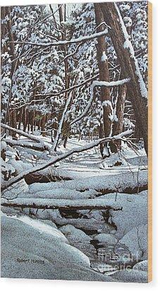 Horseshoe Valley Wood Print
