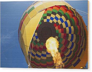 Hot Air Wood Print by Rick Berk