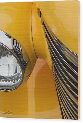 Hot Rod Chevy Wood Print by Steven Milner