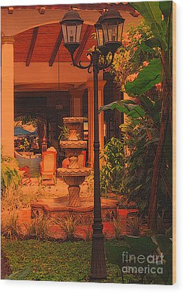 Hotel Alhambra Wood Print by Lydia Holly