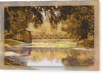 Howe's Bayou Wood Print