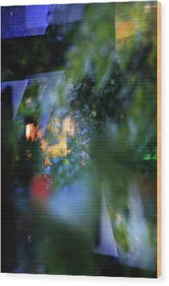 Wood Print featuring the photograph Hues - Forms - Feelings   by Richard Piper