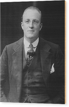 Hugh Walpole 1884-1941, New Zealand Wood Print by Everett