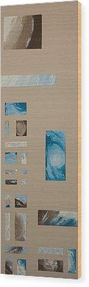 Hurricane 1 Wood Print by Alison Quine