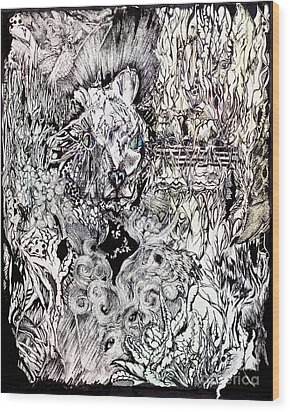 Hysteria Wood Print