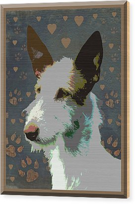 Ibizan Hound Wood Print by One Rude Dawg Orcutt
