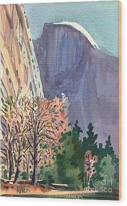 Icon Yosemite Wood Print by Donald Maier
