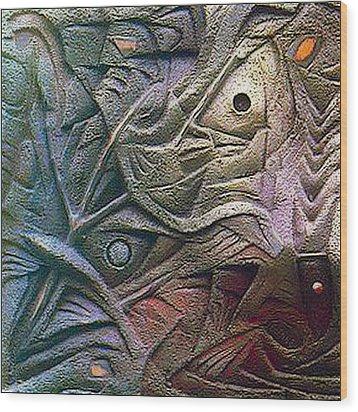Icthus 1984 Wood Print by Glenn Bautista