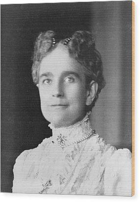 Ida Saxton Mckinley 1847-1907, First Wood Print by Everett