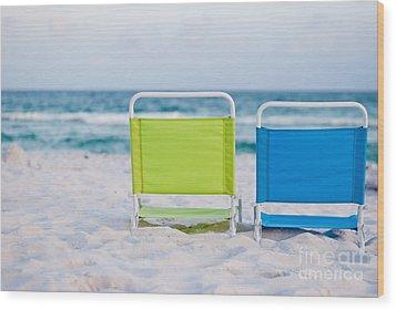 If I Were A Chair... Wood Print by Barbara Shallue
