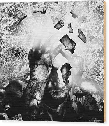 Illuminator II Wood Print by Mariusz Zawadzki