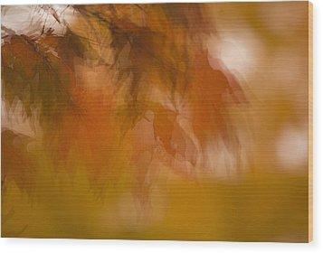 Impressionistic Maple Wood Print