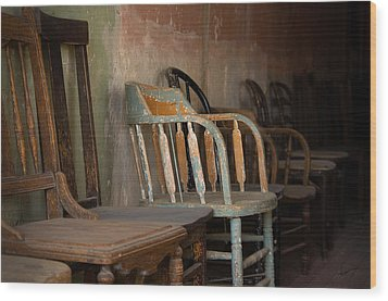 Wood Print featuring the photograph In Another Life - Another Time by Vicki Pelham