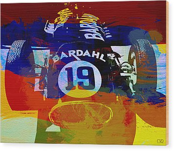 In Between The Races Wood Print by Naxart Studio