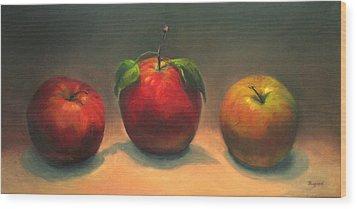 In The Spotlight Wood Print by Vikki Bouffard