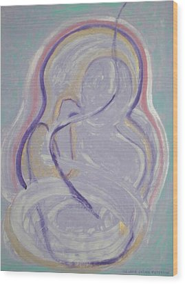 Incarnation Wood Print by Melodie Peterson