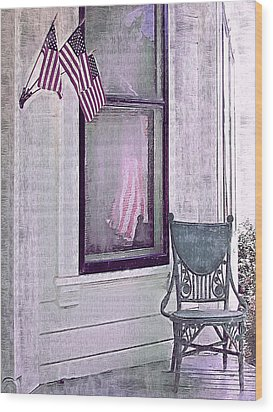 Independence Day Wood Print by Susan Lee Giles