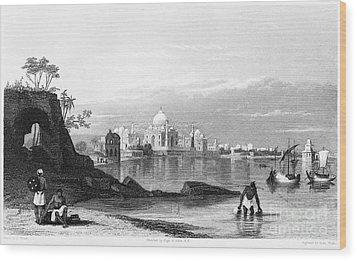 India: Taj Mahal, C1860 Wood Print by Granger