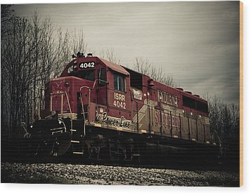 Indiana Southern Wood Print by Off The Beaten Path Photography - Andrew Alexander