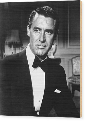Indiscreet, Cary Grant, 1958 Wood Print by Everett