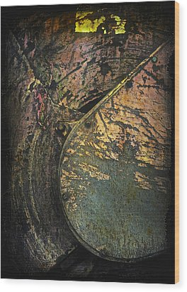 Industrial Devolution Wood Print by Odd Jeppesen