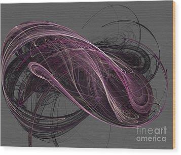 Wood Print featuring the digital art Infinity by Kim Sy Ok