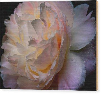 Inner Beauty Wood Print by Liz Evensen
