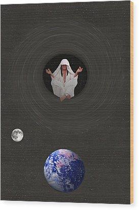 Inner Self Wood Print by Eric Kempson