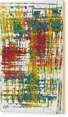 Inside My Garden 161.110411 Wood Print