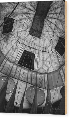 Inside The Balloon Two Wood Print by Bob Orsillo