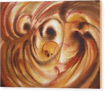 Inspiration Two  Wood Print by Irina Sztukowski