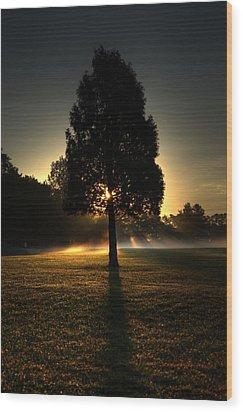 Inspirational Tree Wood Print