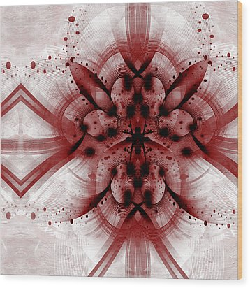 Intelligent Design 1 Wood Print by Angelina Vick