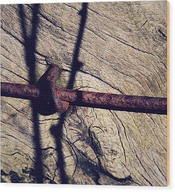 Interstate Wood Print by Odd Jeppesen
