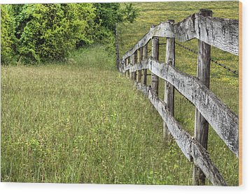 Into The Distance  Wood Print by JC Findley