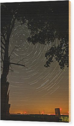 Into The Night Wood Print by Jim Finch